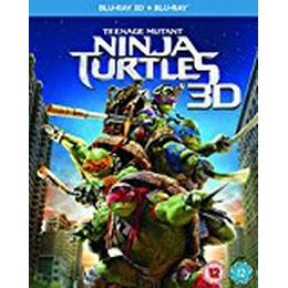Teenage Mutant Ninja Turtles [Blu-ray 3D + Blu-ray] [Region Free]